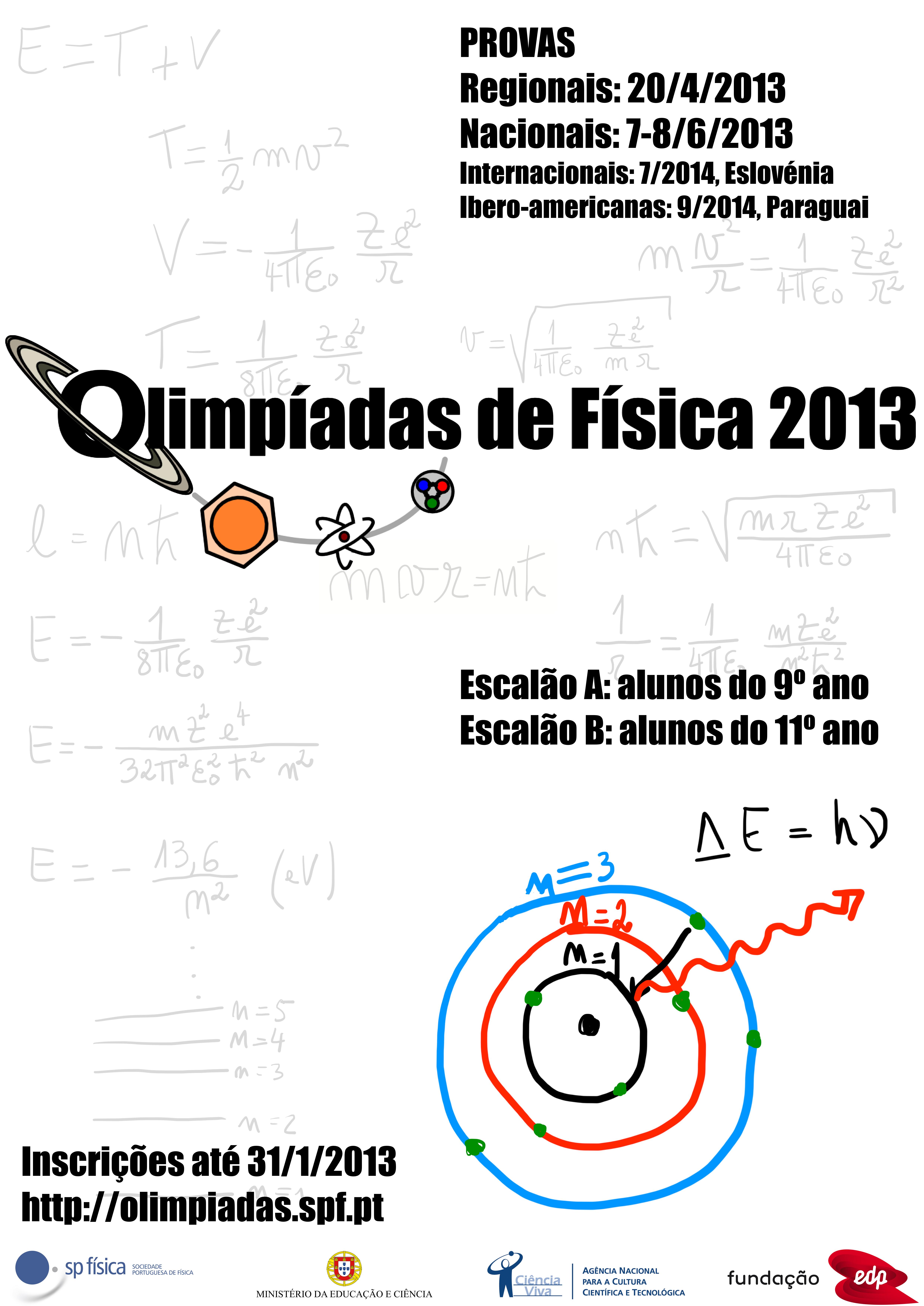 cartaz olimpiadas 2013